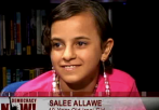 Salee and Her Father on Democracy Now with Amy Goodman