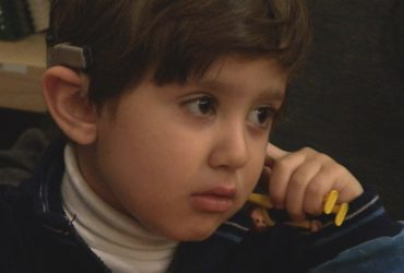 Silence Surrounding Iraqi Boy Deafened in Airstrike Broken by SF Doctors' Cochlear Implant
