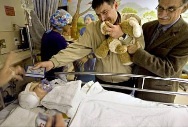 Surgery for Baghdad Boy Deafened by US Forces in Iraq War