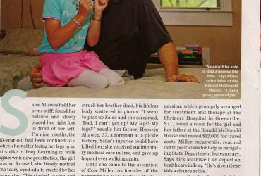 People Magazine Coverage