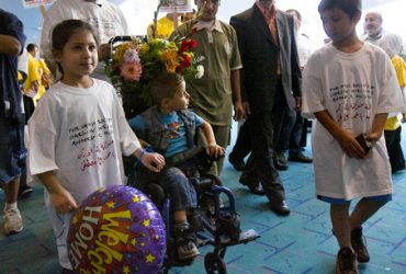 Iraqi child a Portland 'ambassador of peace'