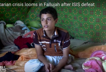 Mustafa flees Fallujah: PBS News Hour Report